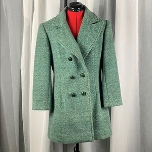 Vintage Green/Mint Pea Coat S/M